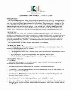 Research Paper Format Template Research Paper Format Introduction Templates At