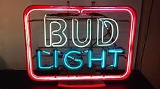 Bud Light Texas Neon Sign And This One Is My Bud Light Neon Collectors Weekly