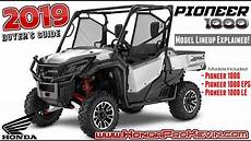 2019 Honda Pioneer 2019 honda pioneer 1000 model lineup differences explained