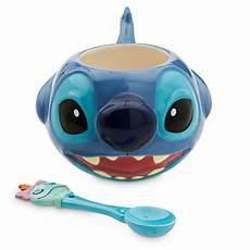 your wdw store disney coffee cup mug w spoon stitch