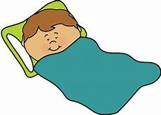 boy sleeping in bed clip library