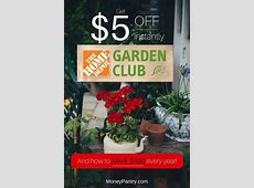 Why You Should Join the Home Depot Garden Club ($5 Instant