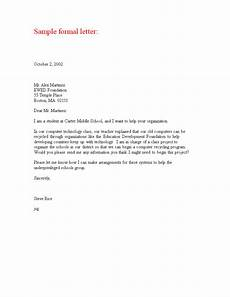 Professional Letter Template Formal Professional Letter Templates At