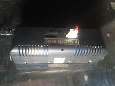 Oversize Strobe Lights Whelen Dash Master Ii 12v 2 Red Amber Emergency Strobe