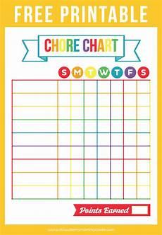 Chore Chart Kits Free Printable Chore Chart Printable Crush