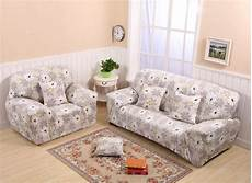monily flower printed sofa cover spandex anti