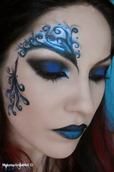 makeup blue make up artist me blue secret blue masquerade makeup
