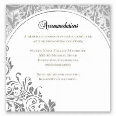 How To Word Hotel Accommodations For Wedding Invitations What To Include In Wedding Invitation Everafterguide