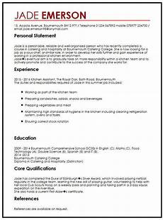 Resume Format For Teenagers Cv Example For Teenagers Myperfectcv