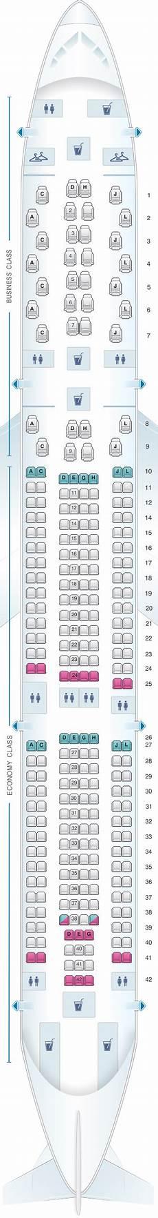 Iberia 2622 Seating Chart Seat Map Iberia Airbus A330 300 Iberia