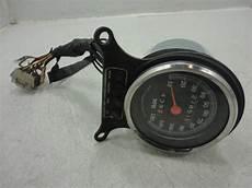 Harley Davidson Red Light On Speedometer 86 Harley Davidson Fxr Fxrd Speedometer Speedo W Bezel