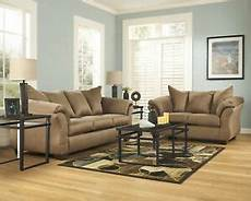 furniture darcy mocha sofa and loveseat living room