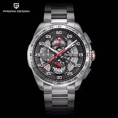 Steel By Design Watch 2019 Pagani Design Top Brand Luxury Skeleton Watch Men