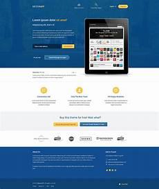 Video Landing Page Template 40 Best Free Landing Page Psd Templates Designmaz