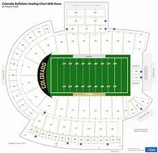 Seating Chart Folsom Field Folsom Field Seating Charts Rateyourseats Com