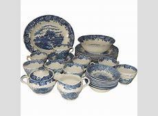 Staffordshire Salem China English Village Dinnerware Set