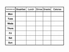 Food Diary Chart Template 40 Simple Food Diary Templates Amp Food Log Examples