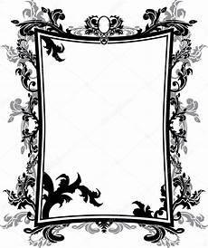 cornice gotica ornate vintage frame stencil stock vector 169 kristino0702
