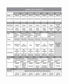 Daily Timetable Template Free 9 Sample Daily Timetable Templates In Pdf Ms Word