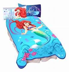 Size Chart For Mermaid Disney Aquatic Blue Girls Little Mermaid Twin Size Throw
