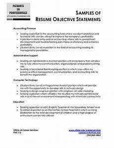 Objective Statement For Resumes Sample Resume Objective Statement Adsbygoogle Window