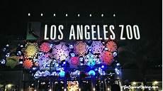La Zoo Lights Family Celebration Los Angeles Holiday Tradition La Zoo Lights