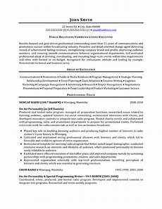 Pr Resume Objective Top Public Relations Resume Templates Amp Samples