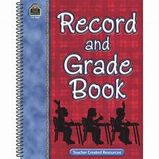 Gradebook Cover Record Amp Grade Book Tcr3360 Teacher Created Resources