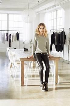 in the studio of the fashion designer