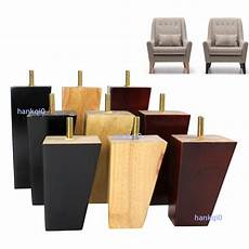 4x wood furniture legs square for ikea cabinet