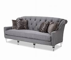 Formal Living Room Sofa Png Image by Amini Adele Tufted Sofa Clearwithcrystals