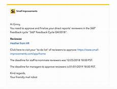 Manager Feedback 360 176 Feedback The Manager Perspective Small Improvements