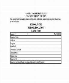 school receipt template 14 school receipt templates free sle exle format
