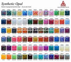 Synthetic Oil Color Chart Synthetic Opal Color Chart In 55 Colors Buy Impregnated