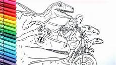 jurassic world coloring pages drawing and coloring
