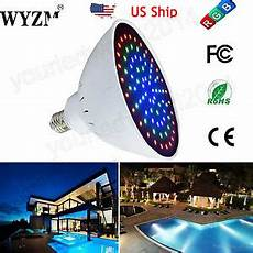 Color Changing Pool Light Bulb 20w 35w 7 Colors Changing Led Pool Light Bulb For Pentair
