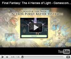 Final Heroes Of Light Cheats New Trailer For Final The 4 Heroes Of Light