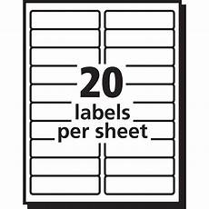 Avery Label Template 5066 Avery Easy Peel Mailing Label Ave 15661