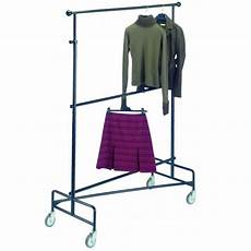 mobile clothes hanging rack mobile clothes rack 2 adjustable levels provost