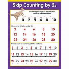 Counting By 2 S Chart Skip Counting By 2s Chart Creative Teaching Press Ctp1308