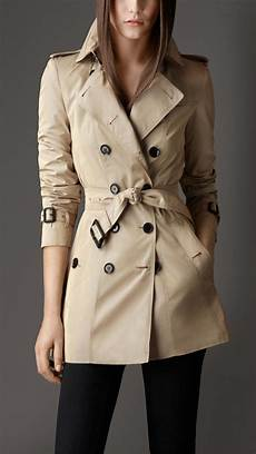 burberry bow belt trench coat in lyst