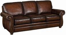 furniture ss186 brown leather sofa with exposed