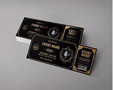 Design Event Tickets Online Gold Vip Event Ticket Example 1024x819