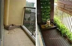 before and after small balcony garden balcony decor