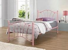 birlea pink single 3ft 90cm metal bed frame