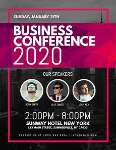 Promotional Flyer Ideas Business Conference Corporate Poster Flyer Design Template
