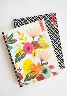 Cover Page For Notebook Diy Customizable Notebooks For Back To School Pottery Barn