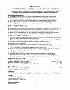 Entry Level Science Resumes Environmental Science Entry Level Resume Samples