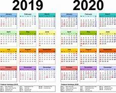 Images For Calendar 2020 2019 And 2020 Calendar Printable Calendar Shelter
