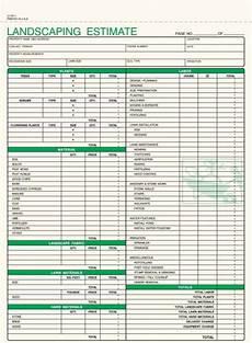 Lawn Care Estimate Forms 3 Part Lawn Care Invoice Carbonless 5 2 3